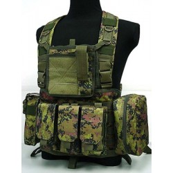 Digital CADPAT Chest Rig assault suspenders MOLE with Canadian pockets