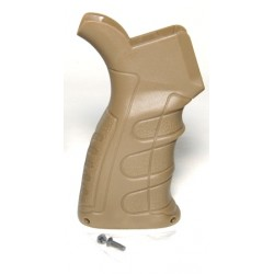 G16 slim pistol style motor grip for M4 AEG Tan