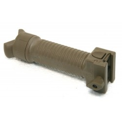 Tactical bipod grip coyote
