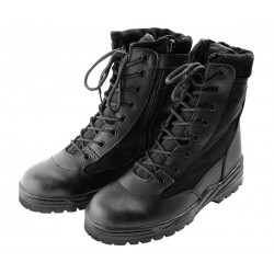 Patriot Boots with zip - Black