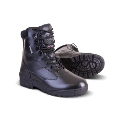 Tactical Boots - All leather - Black