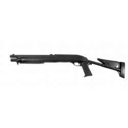 ASG - Fusil à pompe FRANCHI SAS 12 Crosse réglable - NOIR