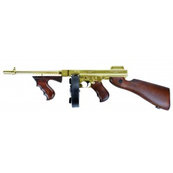 KING ARMS - Thompson 1928 Gold and Real Wood