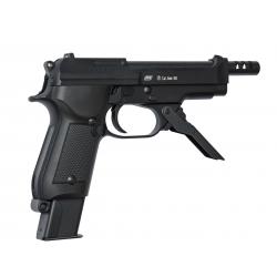 ASG - M93 R II Culasse métal semi/Burst 3 billes GBB gaz - 1,3 joule - NOIR
