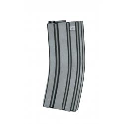 ASG - Chargeur Mid-cap pour M4/M16 140 billes - NOIR