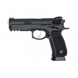 ASG - CZ SP-01 SHADOW culasse métal GBB gaz - 0,9 joule - NOIR
