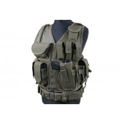 GFC TACTICAL - Gilet Tactique KAM-39 - OD