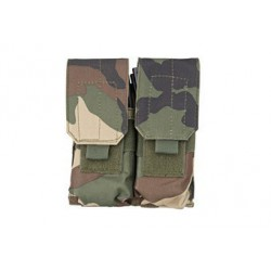GFC - Poche Double chargeurs type M4/G36 - WOODLAND