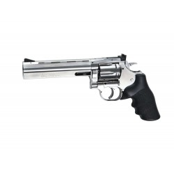 "ASG - Révolver DAN WESSON 715 6"" NBB Co2 - 1 joule - CHROME"