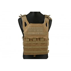 GFC TACTICAL - Gilet Tactique JUMP plate carrier - TAN