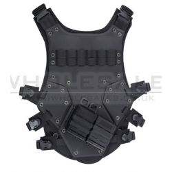 BIG FOOT - Gilet transformers BODY ARMOR - NOIR