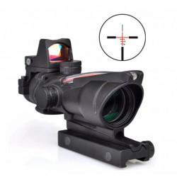 AIMO - Viseur ACOG 4x32 avec mini point rouge