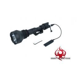 NIGHT EVOLUTION - Lampe M971 + support + Contacteur Déporté - NOIR