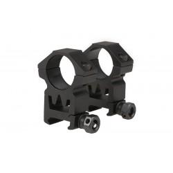 THETA OPTICS - x2 Anneaux de montage haut pour lunette 25mm