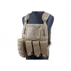 GFC TACTICAL - Gilet Tactique type MBSS - TAN