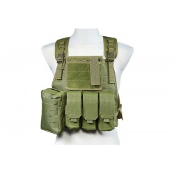 GFC TACTICAL - Gilet Tactique type MBSS laser-cut - OD