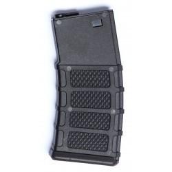 ASG - Chargeur Hi-cap pour M4/M15/M16 - 300 Billes - NOIR