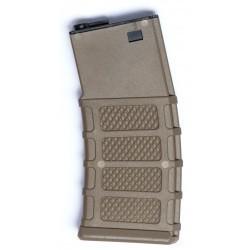 ASG - Chargeur hi-cap pour M4/M15/M16 - 300 Billes - TAN