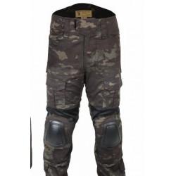 EMERSON - Pantalon GEN 2 avec genouillères - MULTICAM BLACK