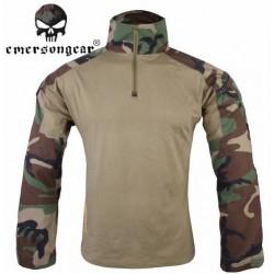 EMERSON - Combat shirt GEN 2 - WOODLAND