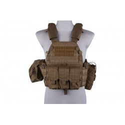 EMERSON - Gilet Plate Carrier LBT6094A - TAN