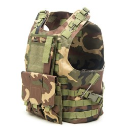 EMERSON - Gilet Plate Carrier AMPHIBIOUS - WOODLAND