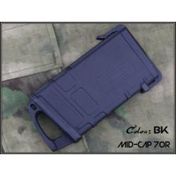 BIG DRAGON - Chargeur Mid-cap pour M4 - 70 billes - NOIR