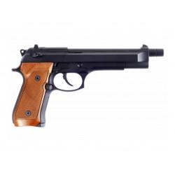 WE - M92L GBB gaz - 0,9 joule - NOIR