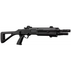 BO MANUFACTURE - Fusil à pompe FABARM STF/12-11 COMPACT 3/6 billes - Co2 - NOIR