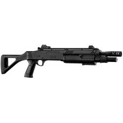 BO MANUFACTURE - Fusil à pompe FABARM STF/12-11 COMPACT - burst 3 billes - NOIR