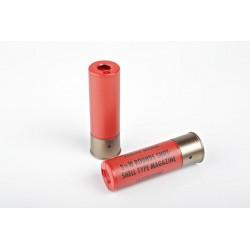 TOKYO MARUI - 2 cartouches rouge pour fusil à pompe