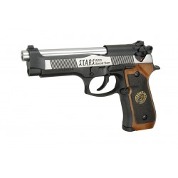 WE - M92 SAMURAÏ EDGE BIOHAZARD GBB gaz - 0,9 joule - Dual tone