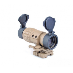 AIMO - Lunette Magnifier X4 ET style FXD desert