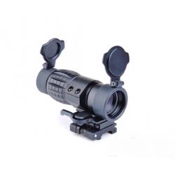 AIMO - Lunette Magnifier X4 ET style FXD noir