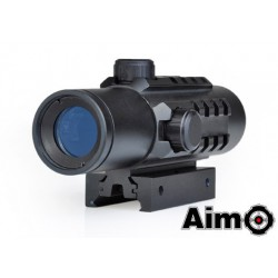 AIMO - Viseur point rouge type DELTA noir