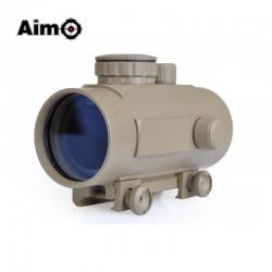 AIMO - Viseur point rouge/vert 1X40 desert