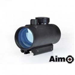 AIMO - Viseur point rouge/vert 1X40 noir