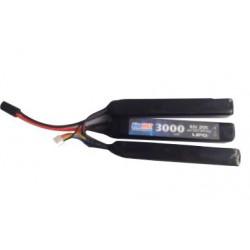 BLUE MAX - Batterie Lipo 11,1V 3000mAh 20C