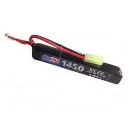 BLUE MAX - Batterie Lipo 11,1V 1450mAh 30C