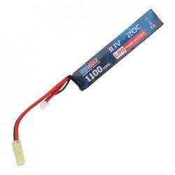 BLUE MAX - Batterie Lipo 11,1V 1100mAh 20C