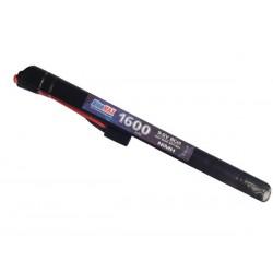 BLUE MAX - Batterie NiMH 9,6V 1600mAh mini tamya