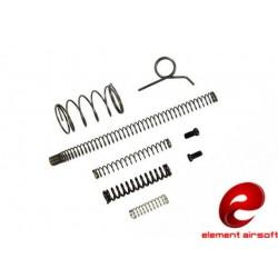 ELEMENT AIRSOFT - Kit de ressorts de remplacement pour Hi-capa