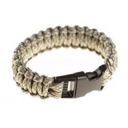 INVADER GEAR - Bracelet de survie en para-corde - ACU CAMO
