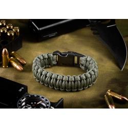 INVADER GEAR - Bracelet de survie en para-corde - GRIS