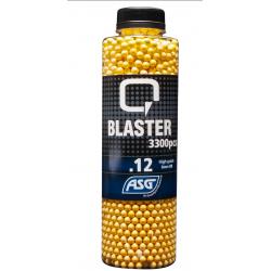 Q-BLASTER - Bouteille de 3300 billes 0,12gr