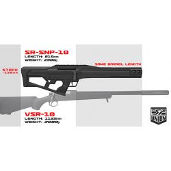 SRU - SR VSR10 SNP10 avec système HFC - NOIR