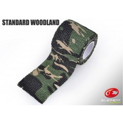 ELEMENT AIRSOFT - Bande de camouflage - WOODLAND
