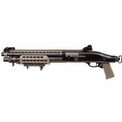 SECUTOR - Fusil à pompe M870 Velites S-II - Tan - Spring 3 billes