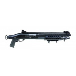 SECUTOR - Fusil à pompe M870 Velites S Spring S-II 3 billes - NOIR