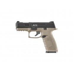 Pistolet Airsoft XFG GBB Gaz - 0,9 joule - TAN
